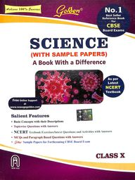Science With Sample Papers A Book With A Difference Class 10 : Cbse