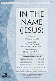 In the Name (Jesus) Orchestration/Conudctor's Score CD- ROM