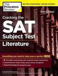 Cracking The Sat Subject Test In Literature  : Princeton Review