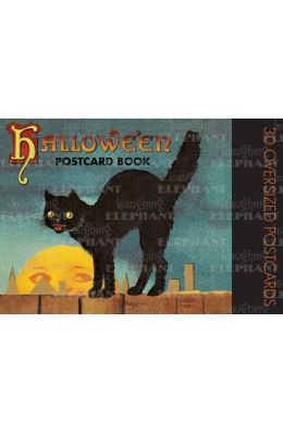 Halloween Postcard Book