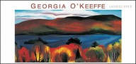 Pomegranate O'keeffe Landscapes Panoramic Boxed Note Card Set (Pack Of 2)