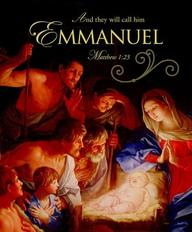 Emmanuel Christmas Nativity Bulletin 2012, Large (Package of 50)