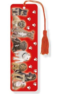 Puppies 3-D Bookmark