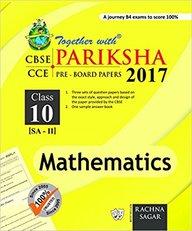 Together With Mathematics Pariksha 2017 Sa 2 Class 10 : Cbse