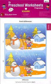 Buy My Preschool Worksheets Seasons Age 5 Book Na 8184991797