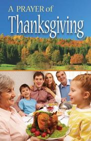 Prayer of Thanksgiving: 25- Pack Tracts