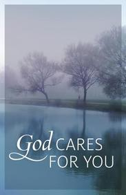 God Cares for You! (redesign) : 25- Pack Tracts