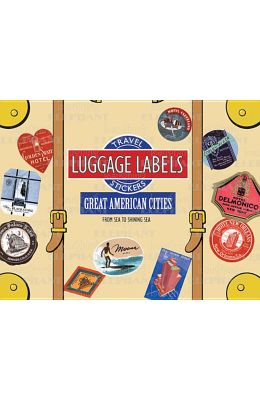 Great American Cities Luggage Labels