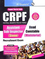 Popular Master Guide Crpf Si & Asi Head Constable Recruitment Exam