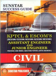 Sunstar Success Guide Kptcl & Escoms : A.E & J.E Civil