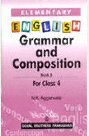 Buy Elementary English Grammar & Composition Book 4 Class 5 W/Cd