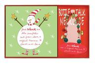 Cherish & Love Holiday Wine Bottle Necklace & Napkins
