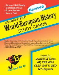 Exambusters World-European History Study Cards: A Whole Course In A Box (Ace's Exambusters)