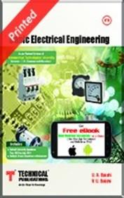 Buy Basic Electrical Engineering 1 2 Sem Vtu Book Ua Bakshi