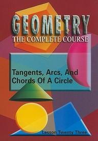Tangents, Arcs & Chords Of A Circle: Mathematics
