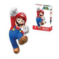 Nintendo- Mario: Shaped Puzzle: Nintendo- Mario: Shaped Puzzle