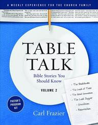 Table Talk Volume 2- Pastor's Program Kit: Bible Stories You Should Know