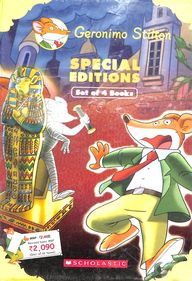 Geronimo Stilton : Set Of 4 Books