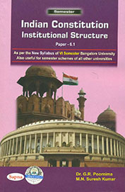 Indian Constitution Institutional Structure For 6th Sem Bu