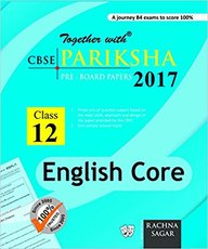 Together With English Core Pariksha 2018 Class 12: Cbse