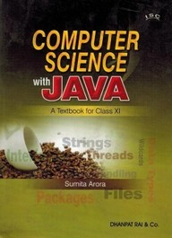 Buy Computer Science With Java Textbook For Class 11 - Isc