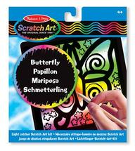Scratch Magic Butterfly Light Catcher Fun Kit (3362)