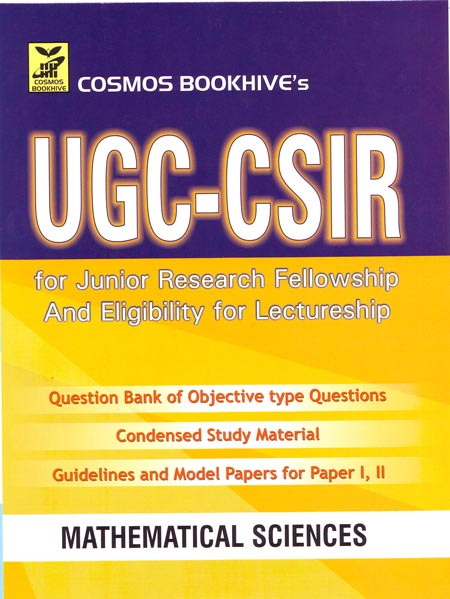 Mathematical Sciences For Ugc-csir Junior Research Fellowship And Eligibility For Lecturership