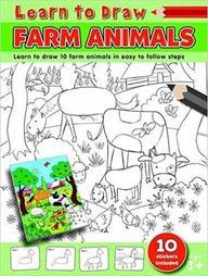 Learn To Draw Farm Animals : Learn To Draw 10 Farm Animals In Easy To Follow Steps