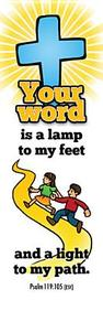 Your Word Kids Bookmark: PS 119:105