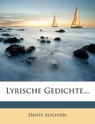 Buy Lyrische Gedichte Book Dante Alighieri 1272746879