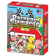 Barnyard Stampede- Card Game: A Racing Card Game That Gets You Mooo- Ving!