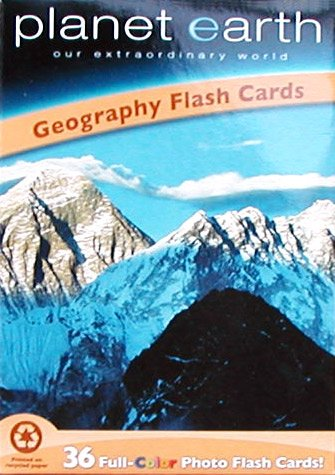 Geography Flashcards: Planet Earth
