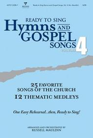 Ready to Sing Hymns and Gospel Songs V4 Choral Book