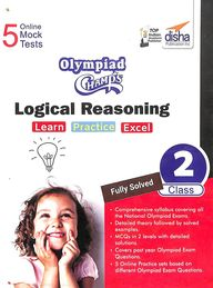 Olympiad Champs Logical Reasoning Workbook Class 2