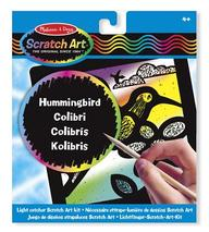 Hummingbird Light Catcher Scratch Art Kit