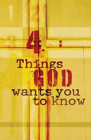 Four Things God Wants You (ESV) : 25- Pack Tracts