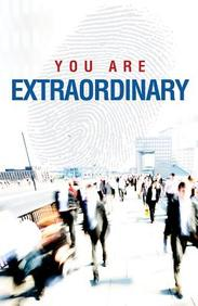 You Are Extraordinary (Redesign) : 25- Pack Tracts
