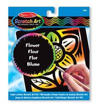 Scratch Magic Flower Light Catcher Fun Kit (3365)