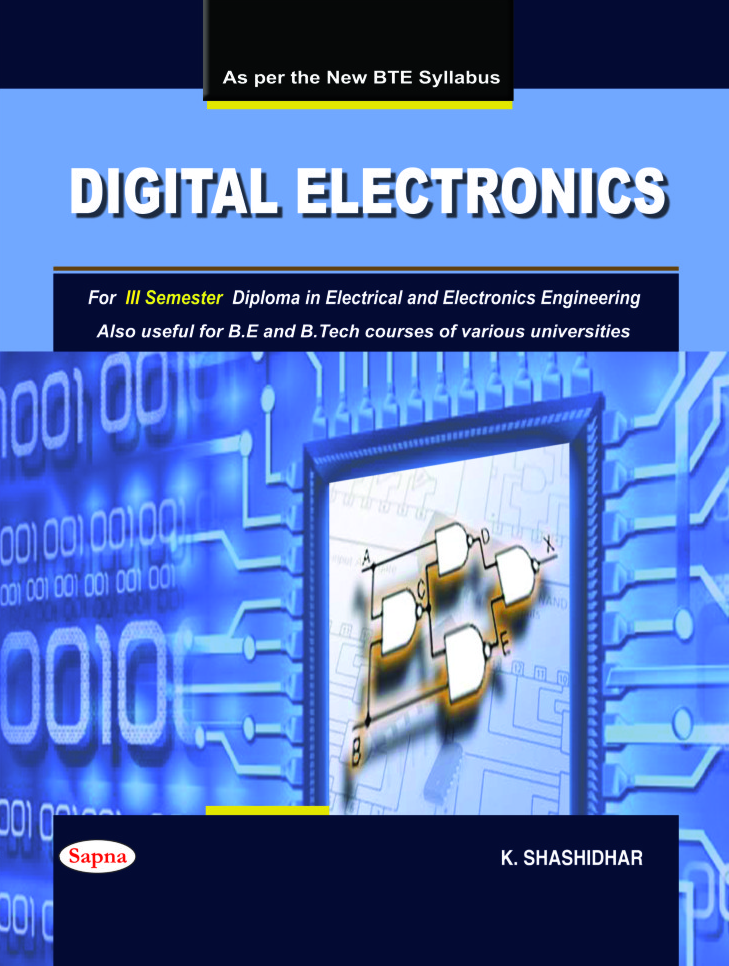 Digital Electronics For 3 Sem Diploma In Electrical & Electronics Engineering