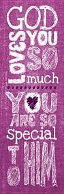 God Loves You Kids Bookmark: Matthew 19:14