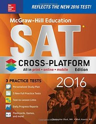 McGraw-Hill Education SAT 2016, Cross-Platform Edition