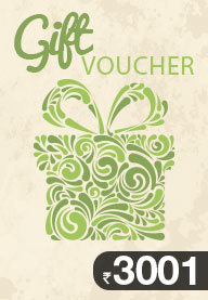 Gift Card Worth Rs 3001