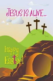 Jesus Is Alive Happy Easter (Kids) : 25- Pack Tracts