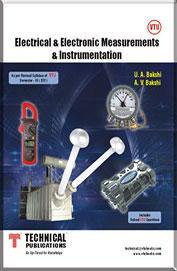electronics measurements and instrumentation by u.a.bakshi a. bakshi