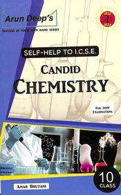 Self Help To Icse Candid Chemistry Class 10 : Icse