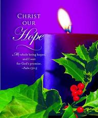 Advent Purple Sunday 1 Bulletin 2012, Large (Package of 50)