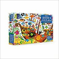 Book and Jigsaw Under the Sea