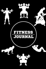 buy fitness journal all black gym workout workout log food
