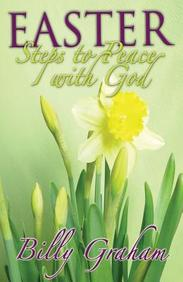 Steps to Peace with God (Easter) : 25- Pack Tracts