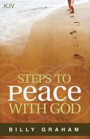 Steps to Peace with God (KJV) : 25- Pack Tracts